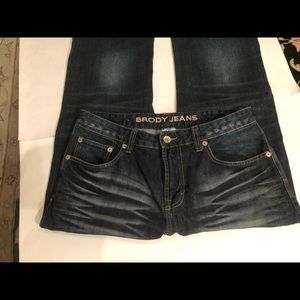 Brody Jeph Slim Bootcut Men's Jeans. Size 32, GUC